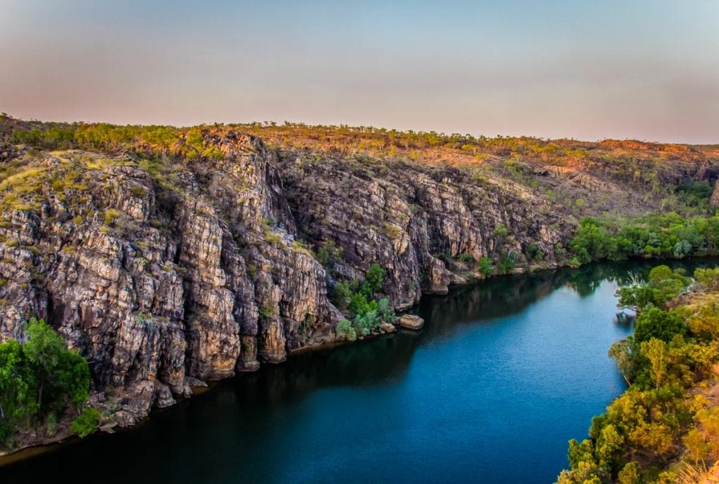 Nitmiluk Gorge (formerly the Katherine Gorge) is a stunning place, carved over millions of years