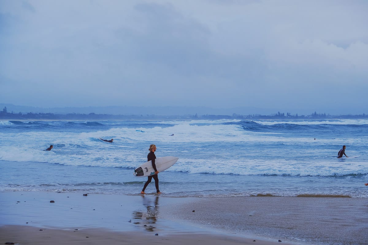 Byron Bay is one of the best places to visit in Australia for its laid-back surf vibe