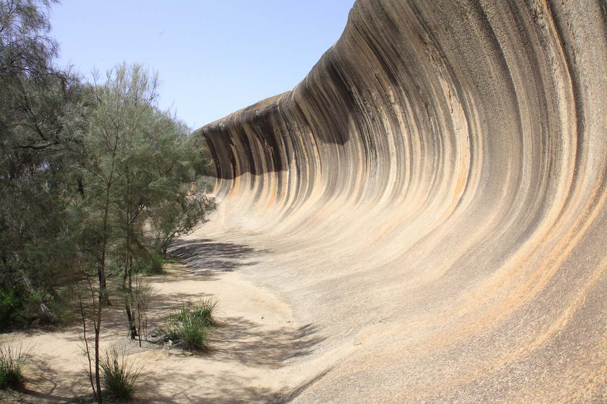 Wave Rock is an unusual rock formation in Western Australia that resembles a wave about to crash - add it to you Australia bucket list so you can tell your friends you went surfing in Australia!
