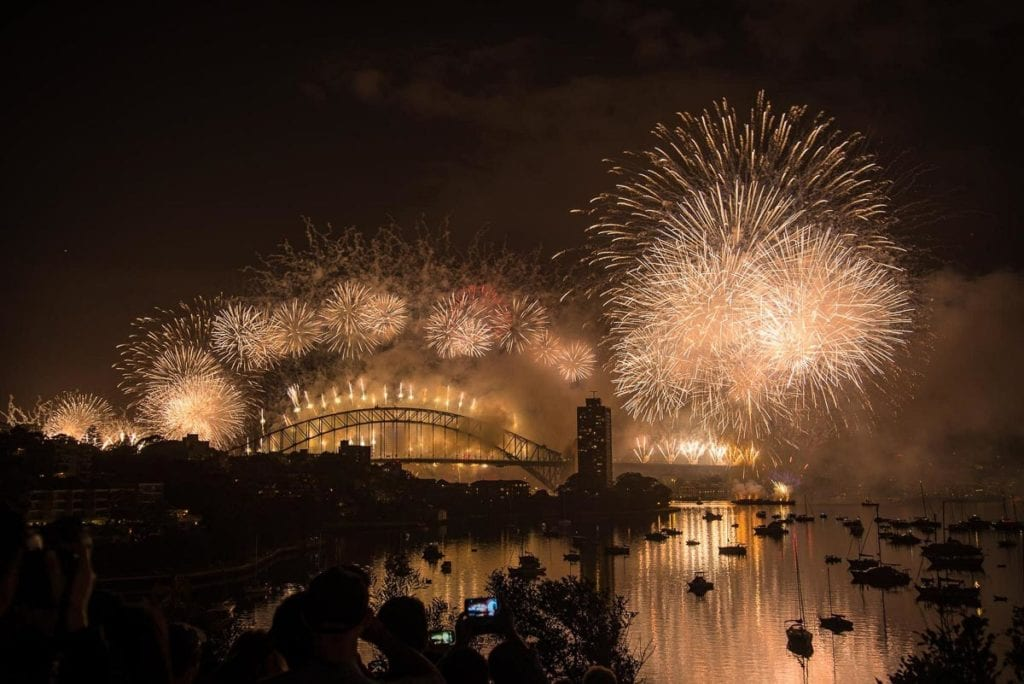 If you're looking for a huge New Year's Eve party look no further than Sydney. It's one of the first cities in the world to ring in the new year