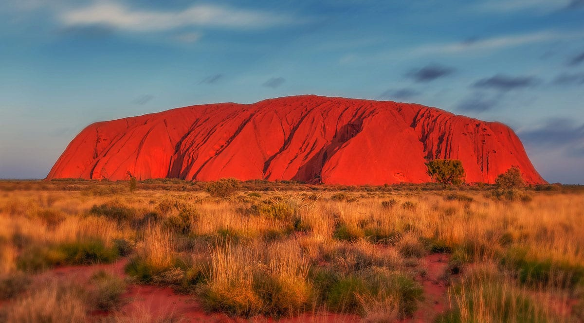 Uluru is one of the most iconic Australian landmarks and a top choice for your Australian bucket list