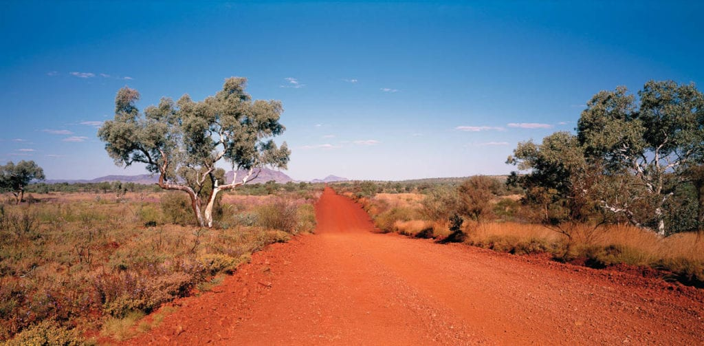 Go way off the beaten path in Karijini National Park in Western Australia - a great one to add to an Australia bucket list