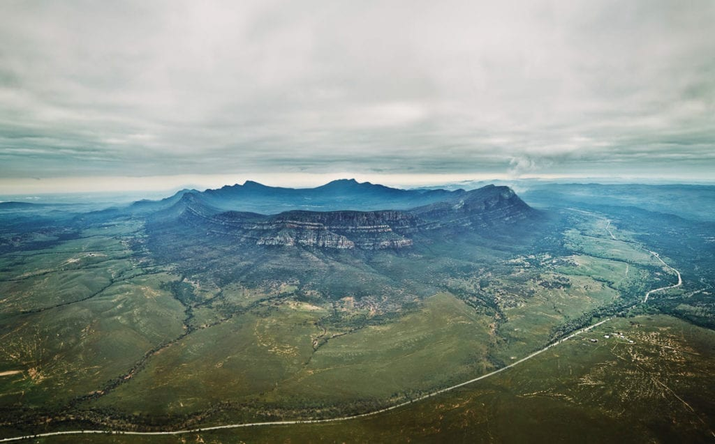 Wilpena Pound is one of the most astounding places to visit in Australia, a place that not even many Australians have heard of