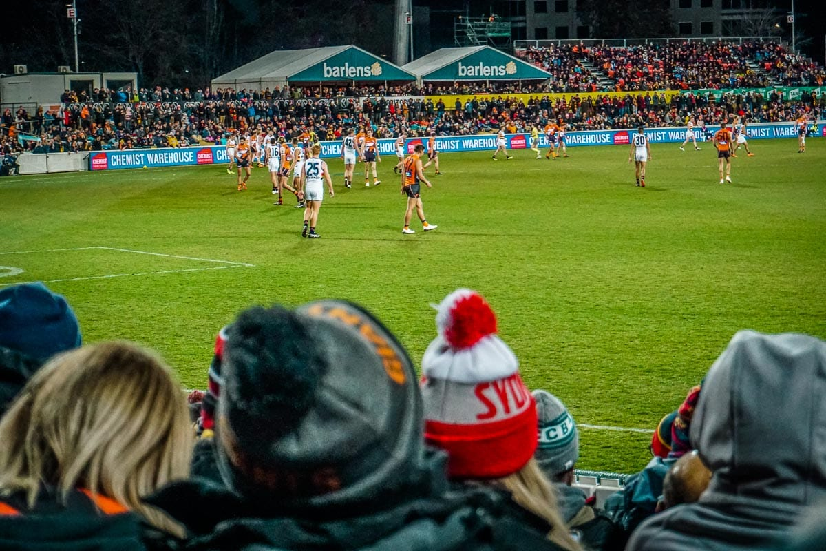 AFL is a sport in Australia that's a must-watch when you visit the country