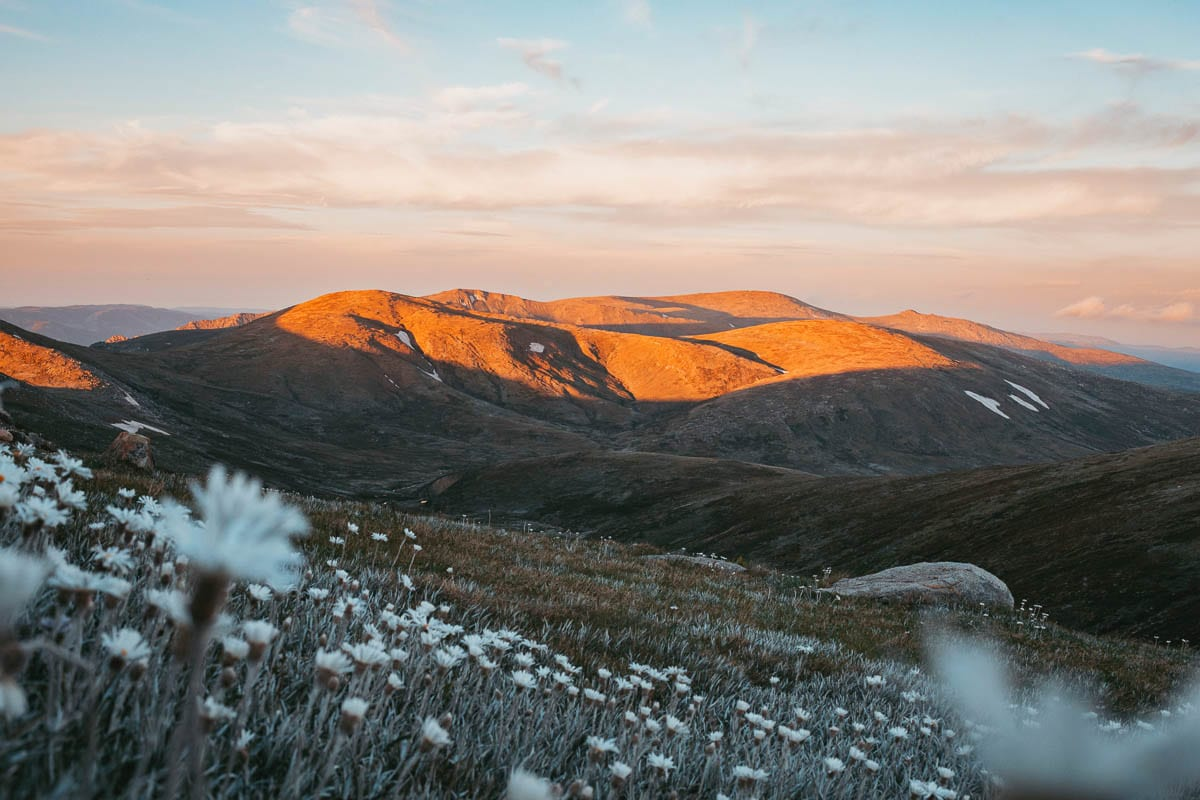 Mount Kosciuszko is the highest mountain in Australia and can easily be climbed