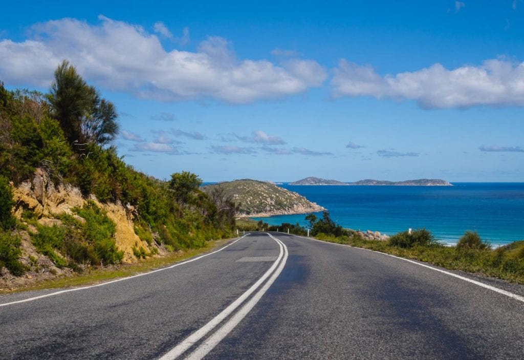Wilsons Promontory in Victoria, Australia, is a great place for road tripping and hiking