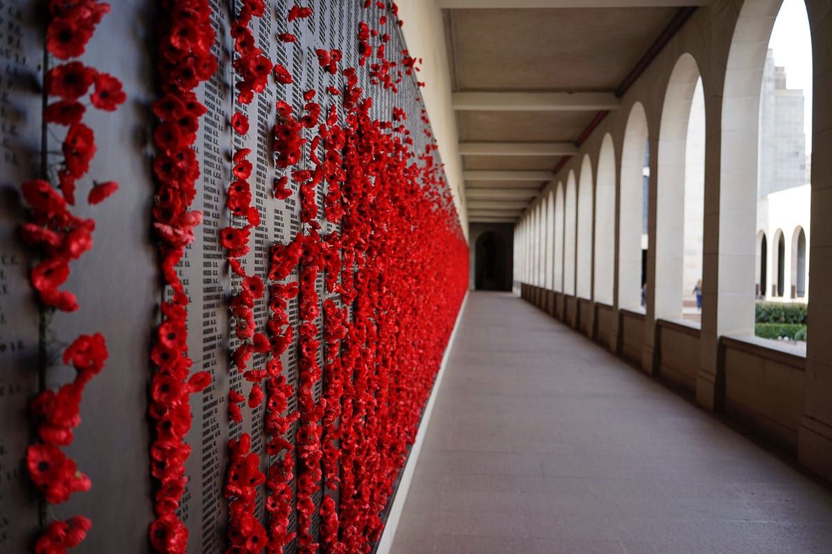 The Australian War Memorial in Canberra, Australia, is one place to reflect on ANZAC Day