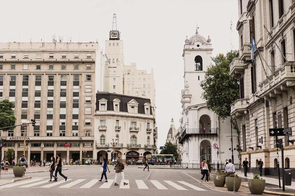Argentina is a romantic place for a honeymoon - the architecture in cities like Buenos Aires is stunning