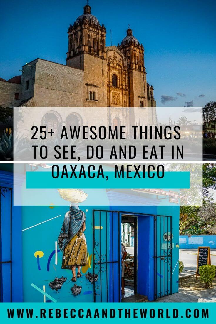 Taking a trip to the food and cultural hub of Oaxaca soon? Discover the best things to do in Oaxaca, Mexico, with this 4-day Oaxaca itinerary, including the best food to eat, things to see and do, when to go and where to stay. | #oaxaca #mexico #oaxacamexico #thingstodoinoaxaca #oaxacatravel #travel #mexicotravel