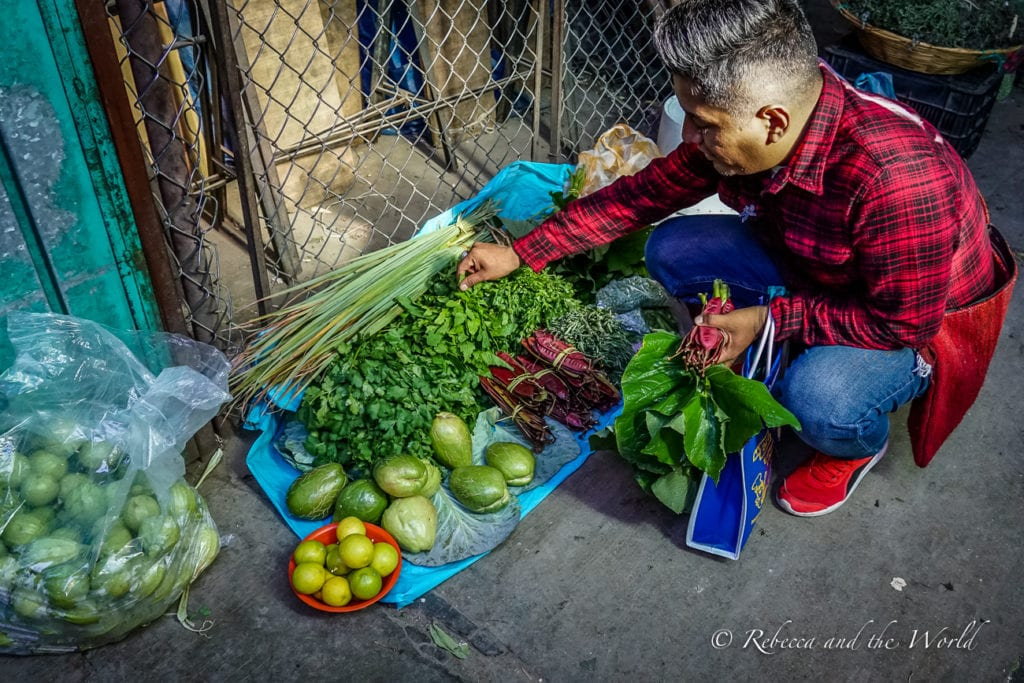 Omar of Oaxacking is a fantastic tour guide who will show you all the amazing foods to eat in Oaxaca