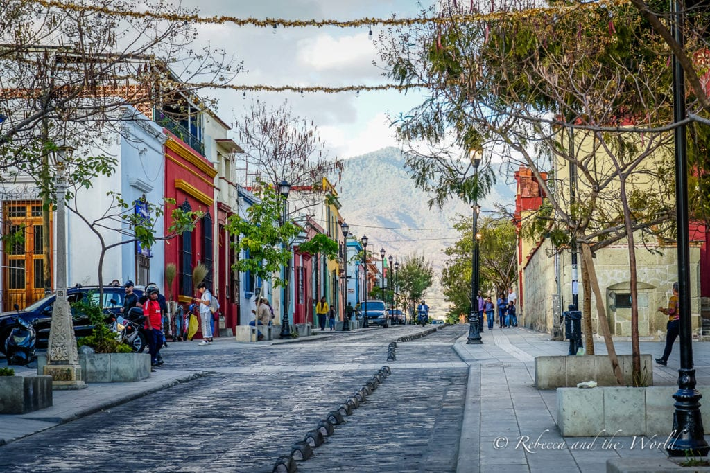 One of the best things to do in Oaxaca is wander the gorgeous streets