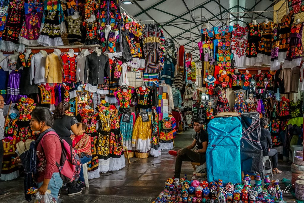 Pack a spare bag when you visit Oaxaca - the shopping is phenomenal