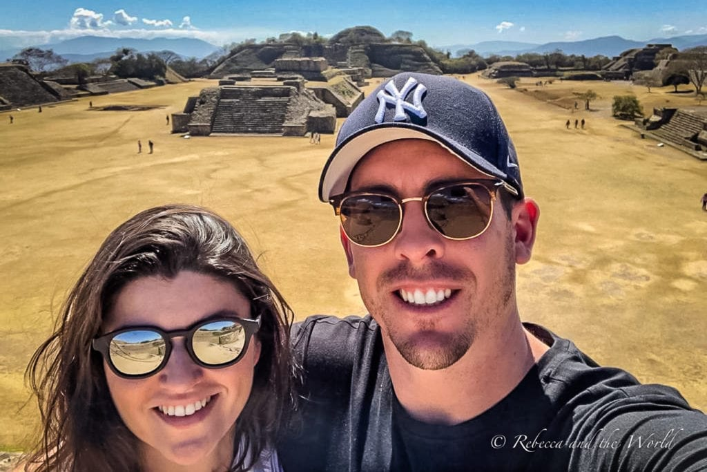 Visiting Monte Alban is one of the best things to do in Oaxaca to learn about pre-Columbian history