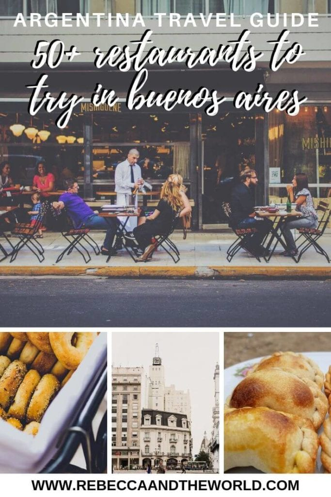 Visiting Buenos Aires, Argentina? You won't go hungry here! Click through for a guide to what to eat, and more than 50 restaurants and bars to add to your itinerary! Vamos! | #BuenosAires #Argentina #wheretoeatinbuenosaires #foodietravel #BuenosAirestravelguide