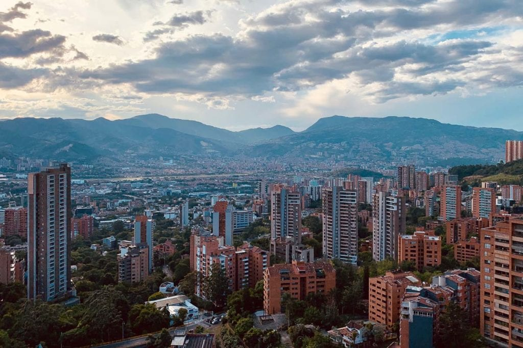 Medellin is THE city for expats in Colombia, with a ridiculously cheap cost of living and plenty of opportunities for digital nomads
