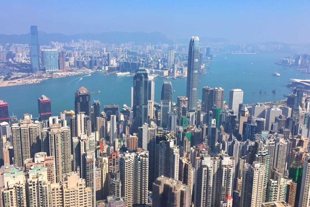 Hong Kong is a great city for expats, with a huge international crowd and great food