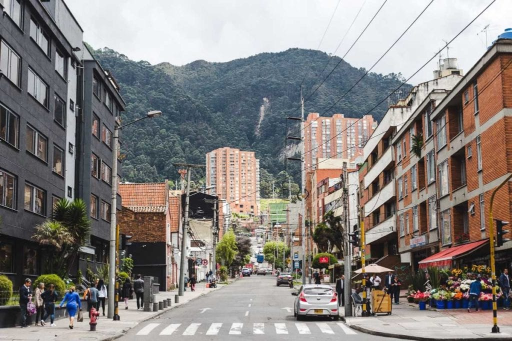 With many big companies and a great cost of living, Bogota in Colombia is a great city for expats