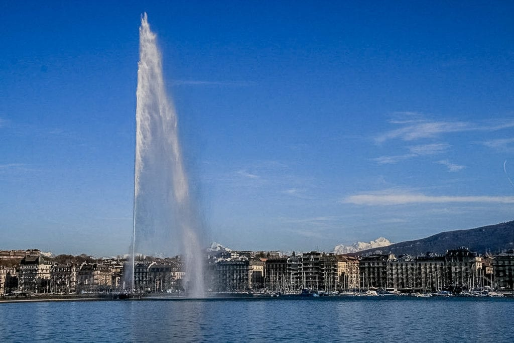 Geneva, Switzerland, is a city that's friendly to expats with many job opportunities available