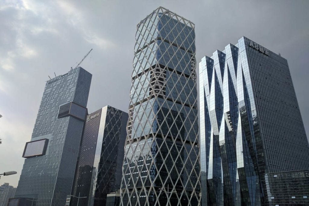 Shenzen is a great city to move to in China, with less pollution than other Chinese cities and many big corporations