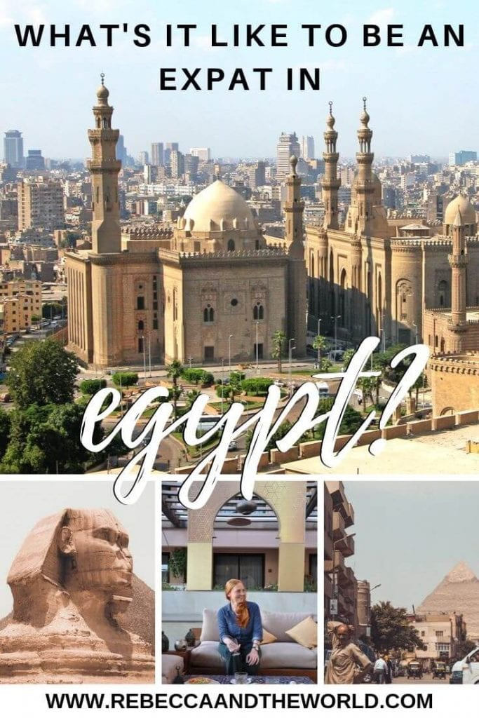 Ever wondered what it's like to be an expat in Egypt? Expat Dee Nowak shares her experiences living in Cairo, including the cost of living in Cairo, the best things to do in Egypt and her expat tips after years of living abroad. | #expat #expatlife #expattales #cairo #egypt #egypttravel #africatravel