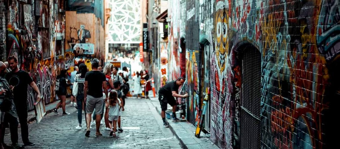 Melbourne's laneways are famous, definitely something to add to any Melbourne bucket list