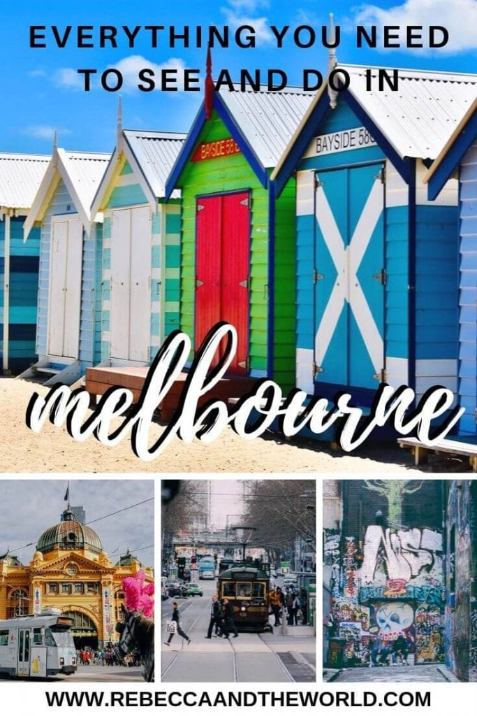 Whether you're just visiting Melbourne for a few days, or you've lived in the city for years, you'll find plenty of things to do with this huge Melbourne bucket list! | #melbourne #australia #visitmelbourne #melbournethingstodo #melbournebucketlist #visitaustralia