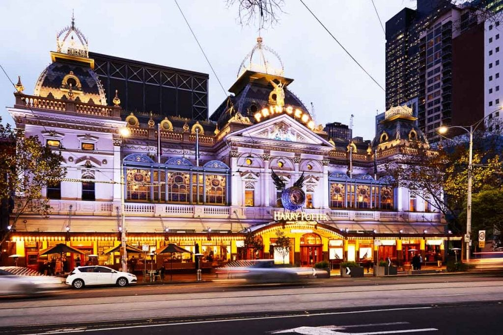 Check out what's playing at one of Melbourne's beautiful theatres