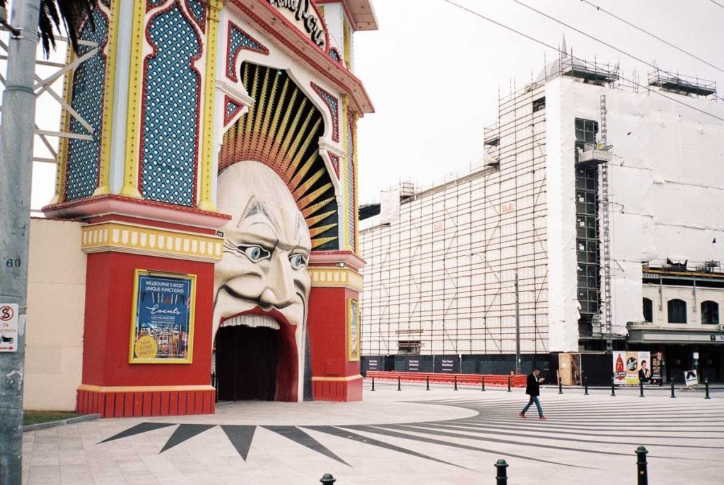 Luna Park is one of the most fun places to visit in Melbourne - even if you don't go inside, stop outside for a photo on your Melbourne bucket list