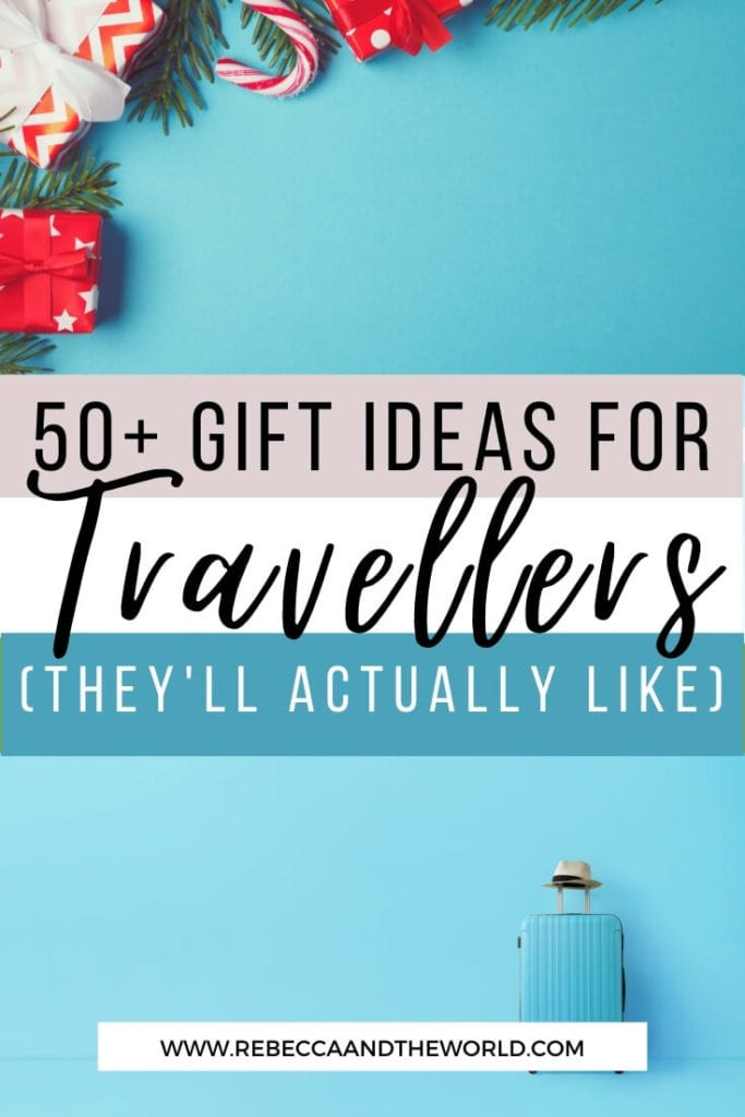 2020 gift guide for travellers! Do you have a special traveller in your life who's always difficult to buy for? This gift guide for travel lovers is sure to have something to make them smile. From books to practical travel goods to experiences, you're bound to find the perfect gift. | Gift Guide | Travel Lovers | Traveller Gift Guide | Gifts | Presents | Travel | Travel Goods | Packing List | Holidays | Holiday Gift Guide | Travel Gift Guide