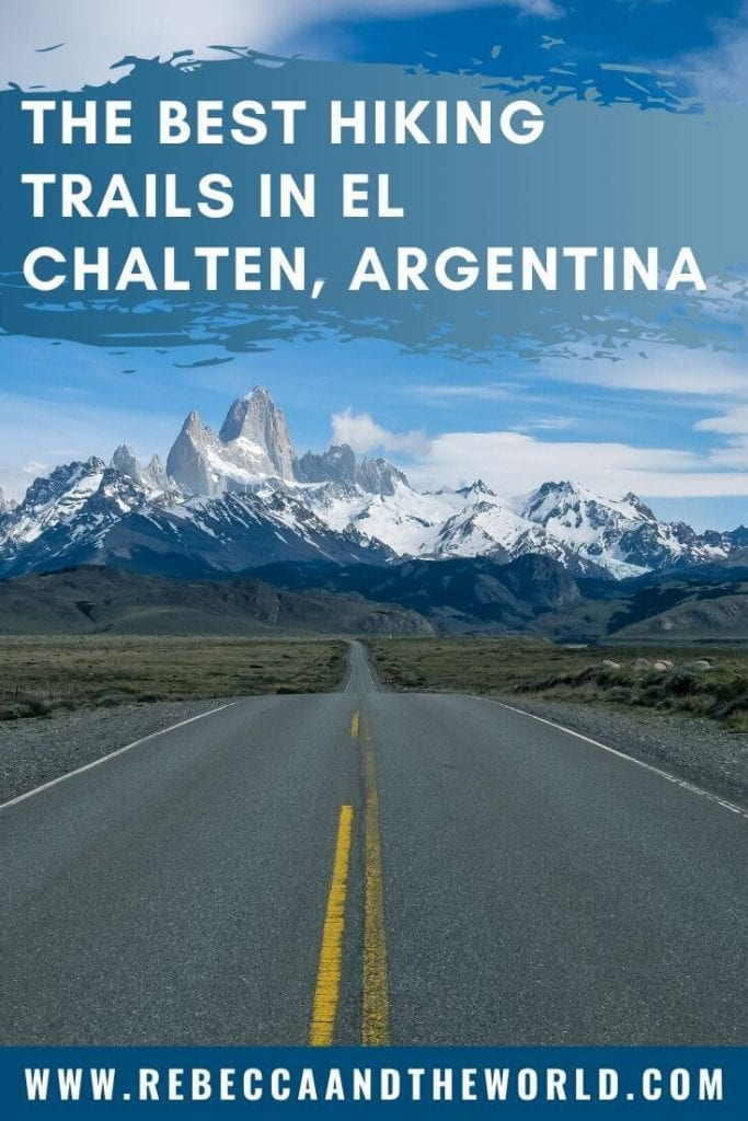 El Chalten is the undisputed hiking capital of Patagonia. This small town in Argentina has so many different hiking trails for all experience levels. Click through to read this guide to the best El Chalten hiking trails, plus tips for where to stay and eat - and what to do beyond hiking! #patagonia #PatagoniaTravel #Argentina #ElChalten #Hiking #thingstodoinpatagonia #ElChaltenHiking