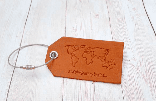 No gift guide is complete without a personalised luggage tag