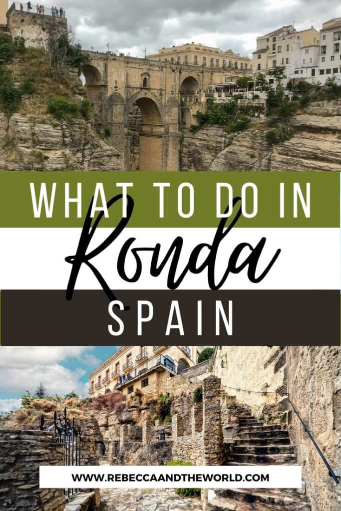 As one of Spain's prettiest cities, there are plenty of things to do in Ronda in the region of Andalucia. This guide walks you through why you should visit Ronda, what to do in Ronda, and where to eat and sleep. | #ronda #andalucia #southernspain #spain #rondaspainthingstodo