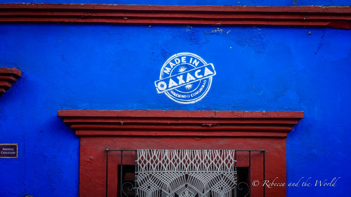 Oaxaca travel is super easy to organise - there's an international airport in the city, or you can fly via Mexico City
