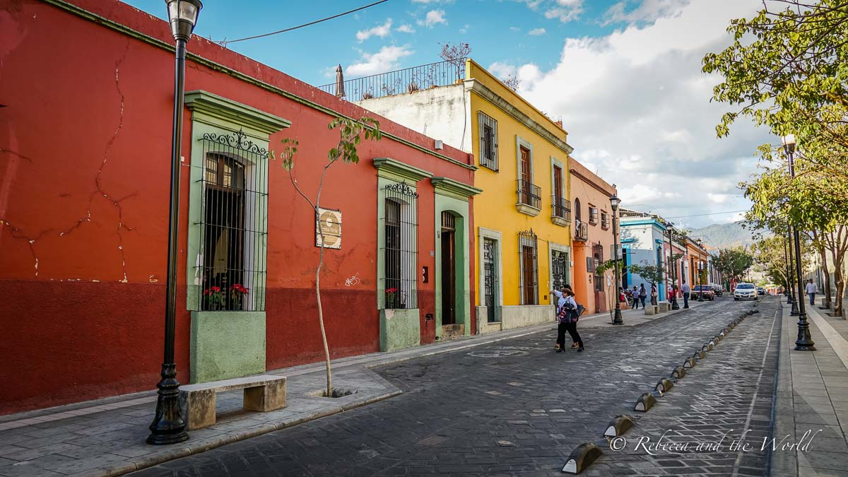 One of the things to know before you visit Oaxaca is that the city is meticulously clean and well-kept