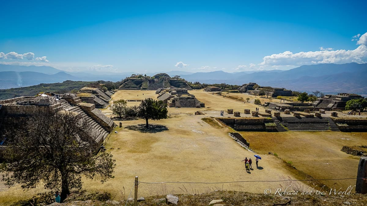 Monte Alban is a great day trip from Oaxaca - it's a must-visit to see this centuries-old site
