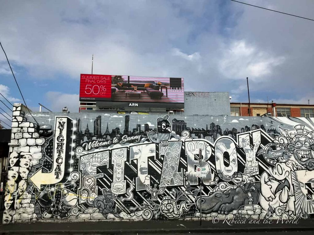 Fitzroy is one of the coolest Melbourne neighbourhoods, with plenty of street art, food, shopping and nightlife