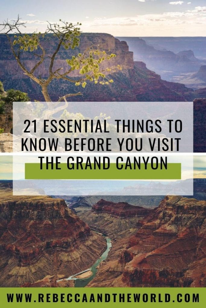 Visiting the Grand Canyon for the first time? These Grand Canyon tips will help you make the most of your visit to this beautiful national park. | #GrandCanyon #Arizona #USATravel #nationalparks #VisitGrandCanyon #USANationalParks