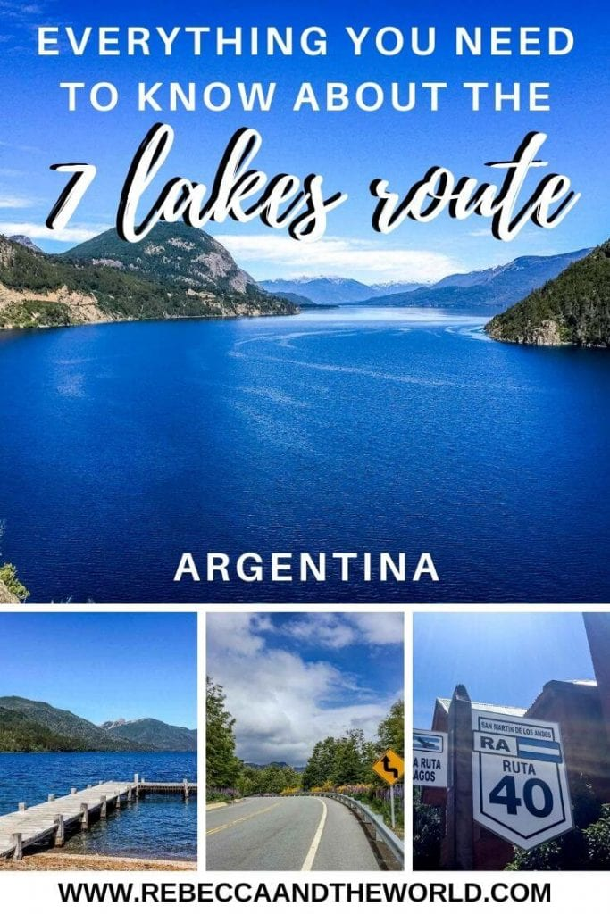 Located in northern Argentina Patagonia, the Ruta de los Siete Lagos (Seven Lakes Route) is a stunning place for visitors to explore. You can either bike or drive the route - either way, you'll have fantastic access to some of the most gorgeous scenery in all of Argentina. | #argentina #patagonia #rutadelossietelagos #Rutadelos7Lagos #biking #roadtrip #bariloche #neuquen #argentinaroadtrip