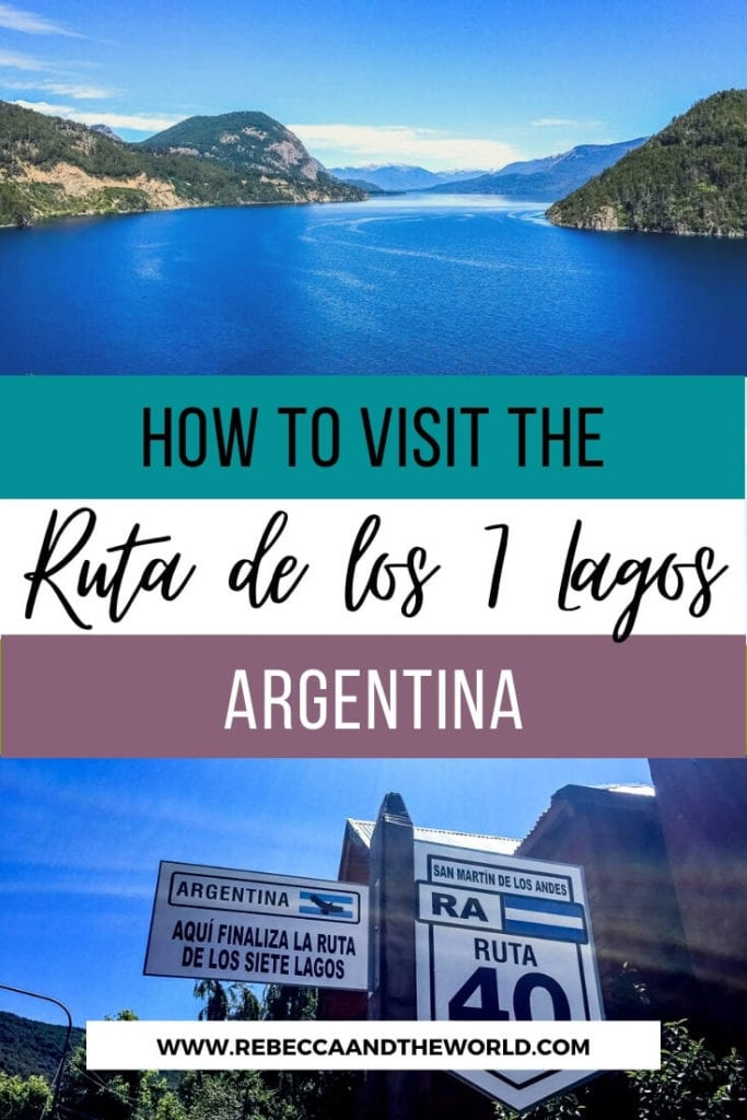 Located in northern Argentina Patagonia, the Ruta de los Siete Lagos (Seven Lakes Route) is a stunning place for visitors to explore. You can either bike or drive the route - either way, you'll have fantastic access to some of the most gorgeous scenery in all of Argentina! | #argentina #patagonia #rutadelossietelagos #Rutadelos7Lagos #biking #roadtrip #bariloche #neuquen #argentinaroadtrip