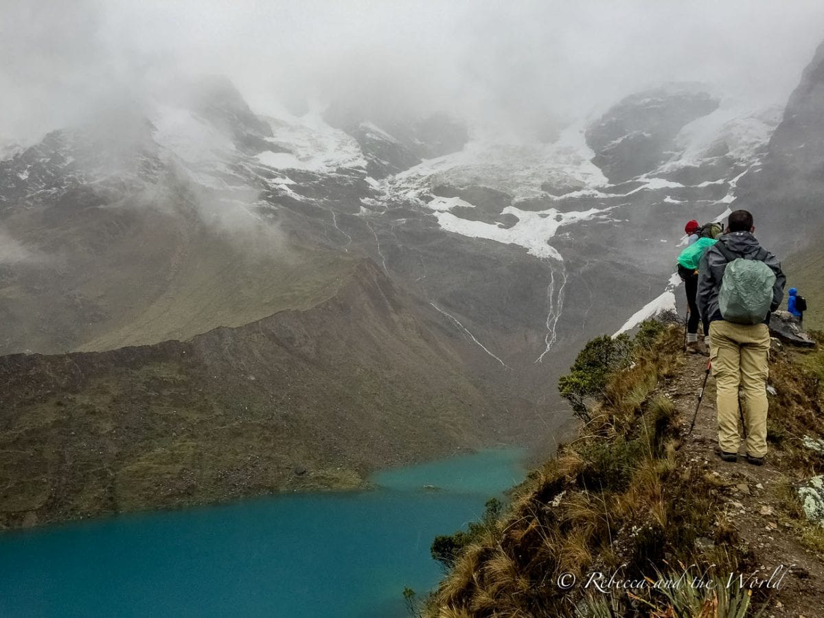 The first two days of the Salkantay Trek to Machu Picchu can be bitterly cold - follow this Salkantay Trek packing list so you know what to bring with you