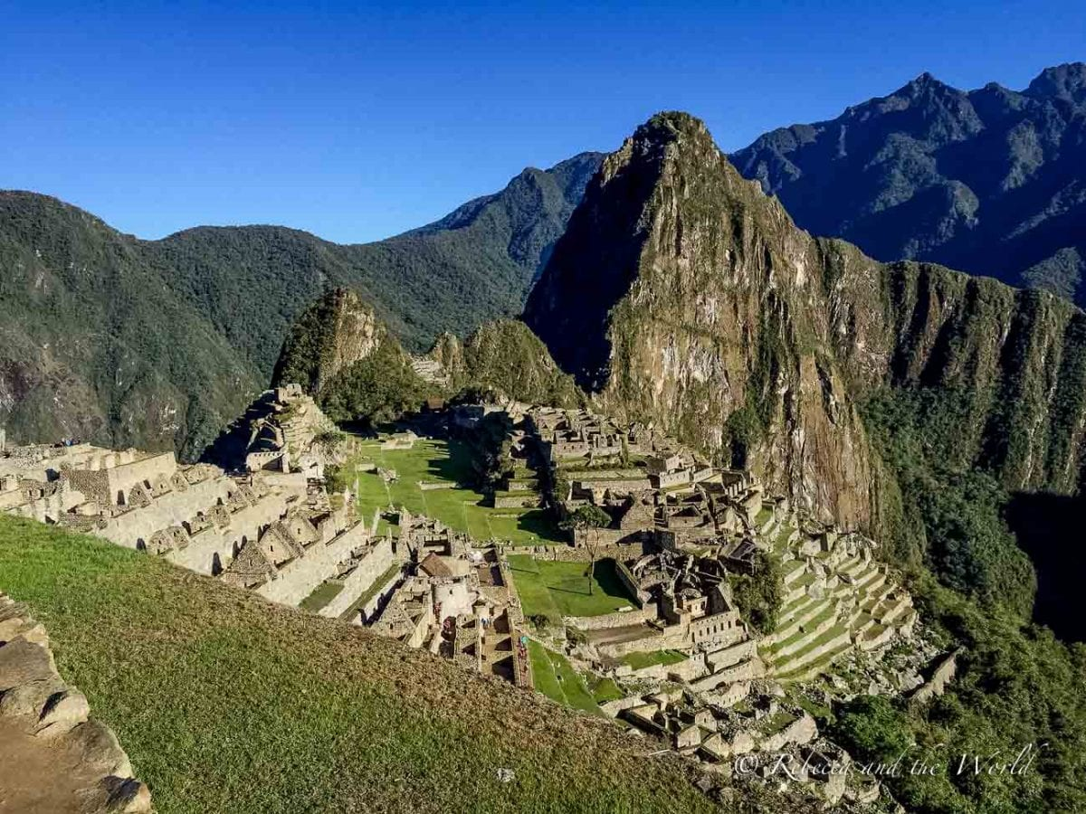 Nothing can prepare you for the wonder and awe you'll feel upon seeing Machu Picchu for the first time!