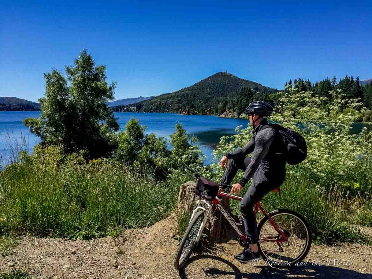 The Circuito Chico in Bariloche in Argentina can be biked in a day