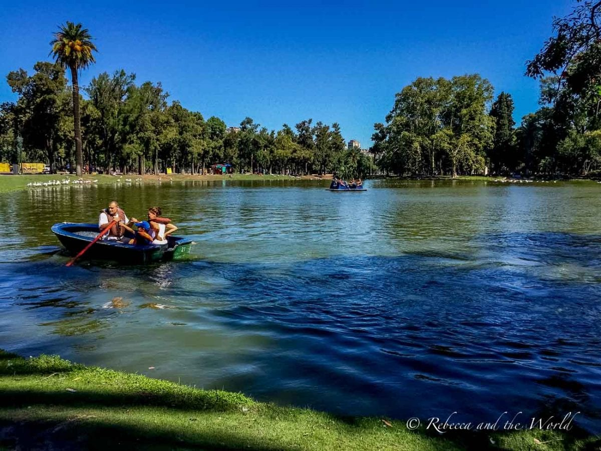 There are many beautiful, green parks throughout Buenos Aires where you can escape the city life