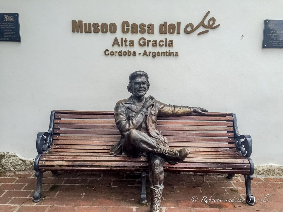 Che Guevara's childhood home is now a museum near Cordoba city that you can visit
