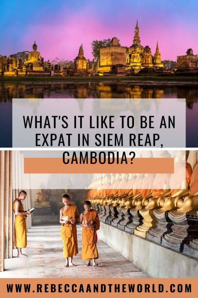 Thinking about moving to Cambodia? Expats Tanya and Andy Korteling share what expat life in Siem Reap is like in this detailed interview, including the cost of living, how to meet people and how to get a visa. | #cambodia #cambodiaexpat #liveincambodia #siemreap #expatlife #expat