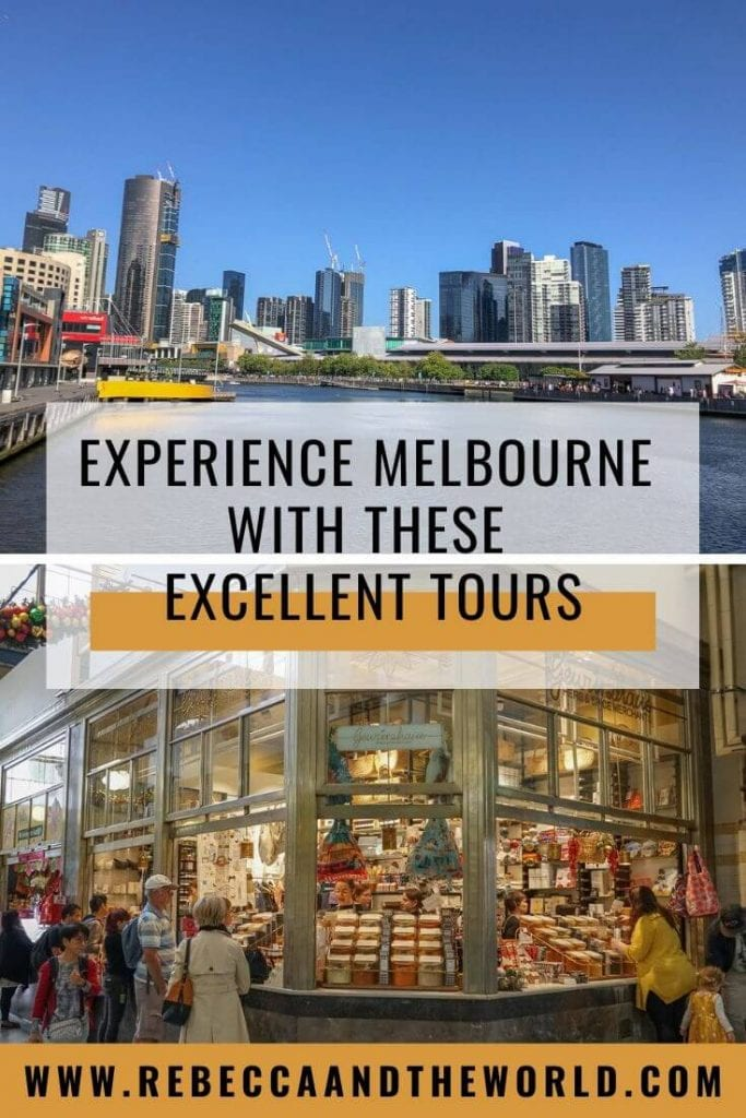 A great way to see and understand Melbourne, Australia is to take a tour. Here's a local's guide to the best Melbourne tours, from food to history, culture to street art. | #melbourne #melbournetours #melbournethingstodo #australiatravel