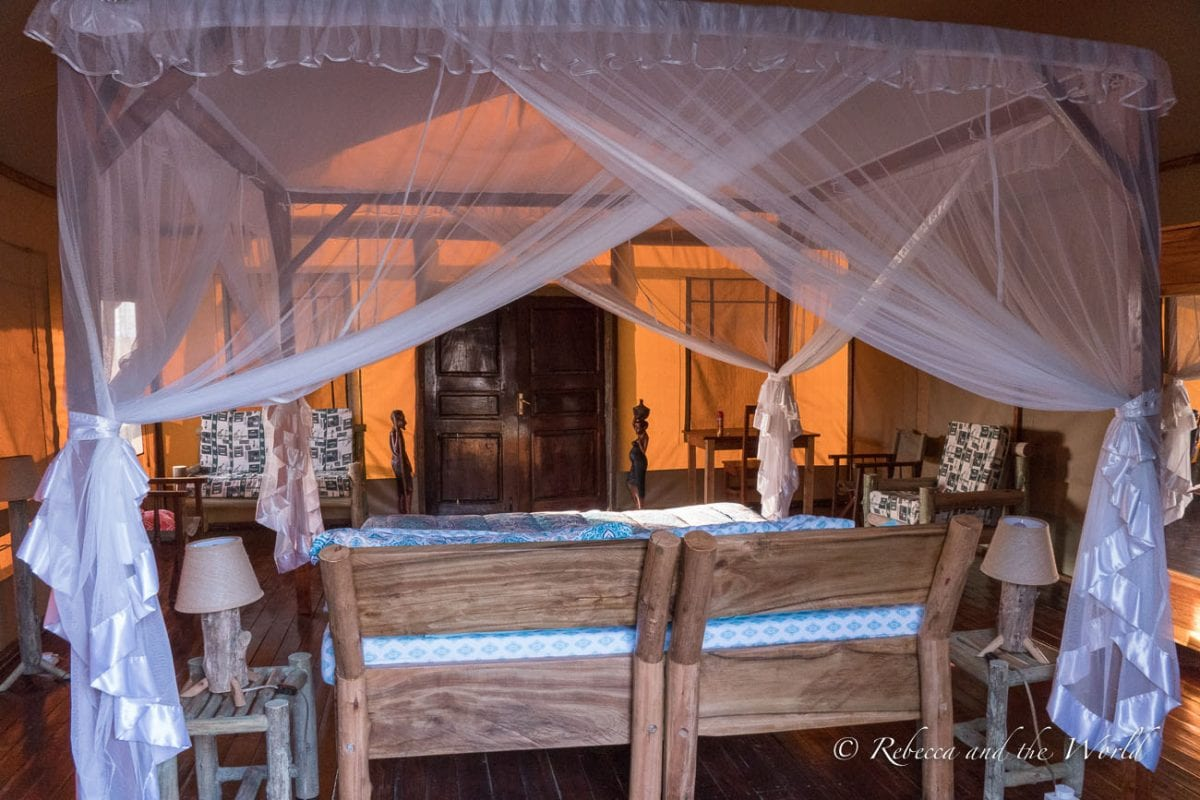 Kasenyi Safari Camp is a luxury lodge in Queen Elizabeth National Park