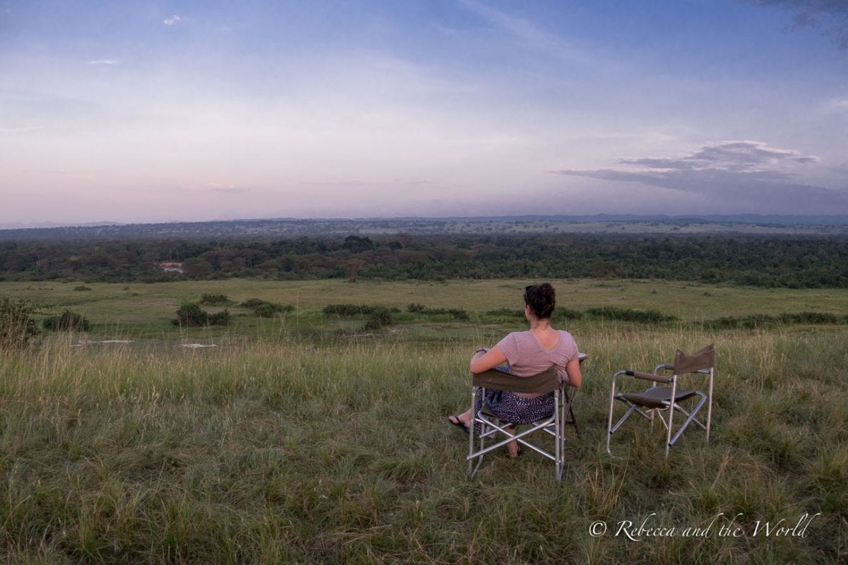 A sundowner in Uganda is a must for any Uganda itinerary
