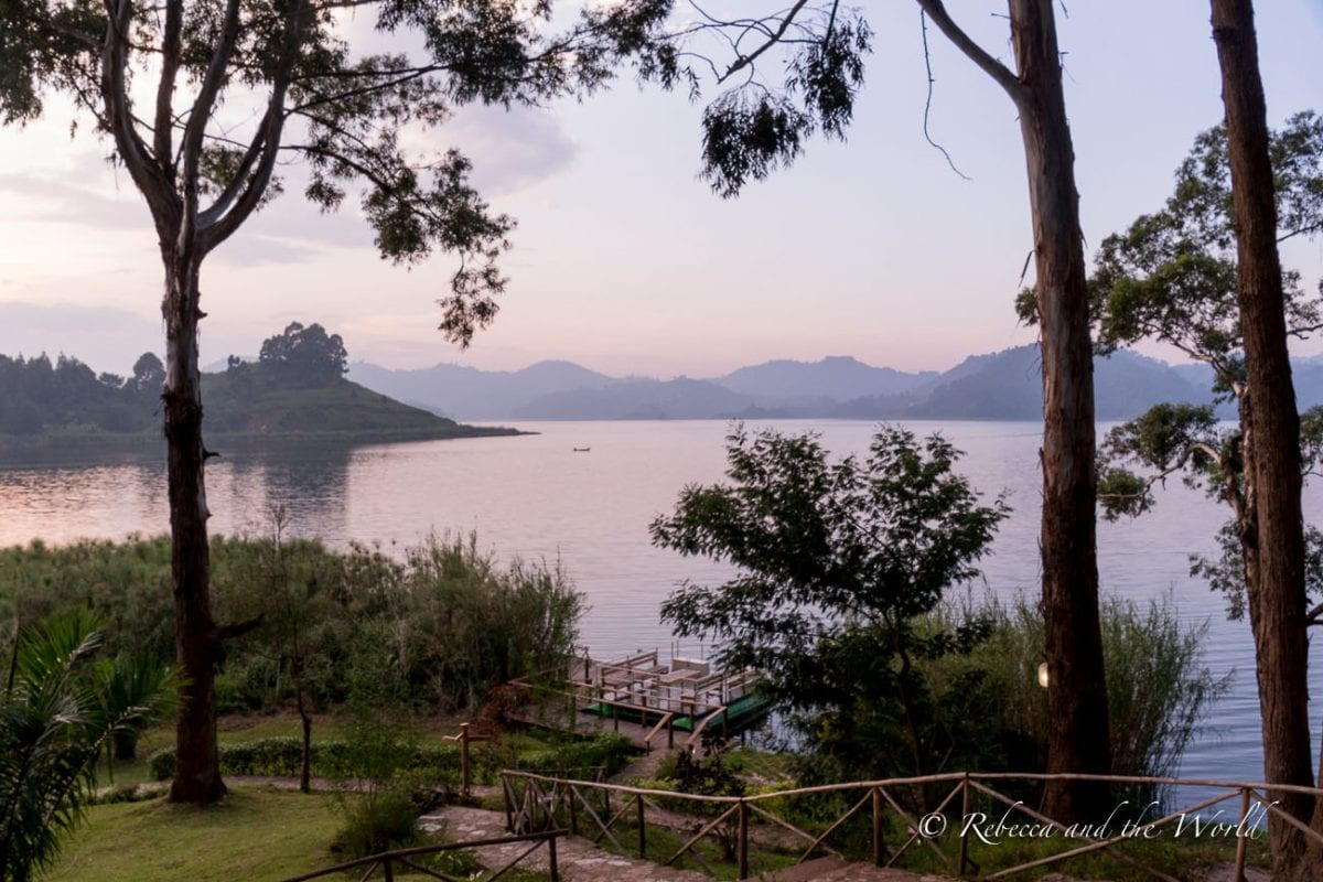 Mutanda Lake Resort is one of the best places to stay in Uganda