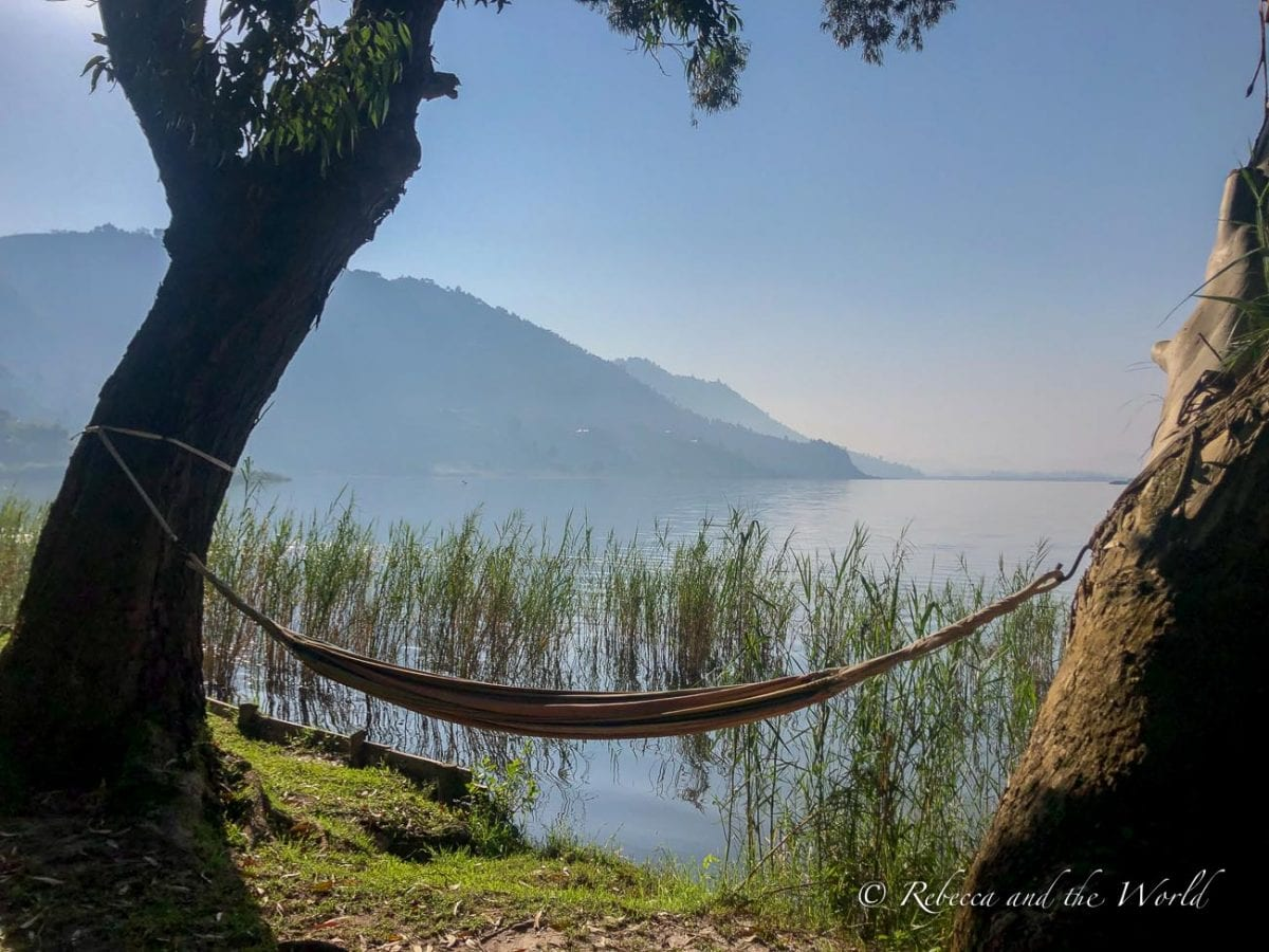 Plan a day in your Uganda itinerary to rest at Mutanda Lake Resort